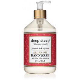 Argan Oil  Hand Wash Passion Fruit Guava Deep Steep 17.6 oz Liquid