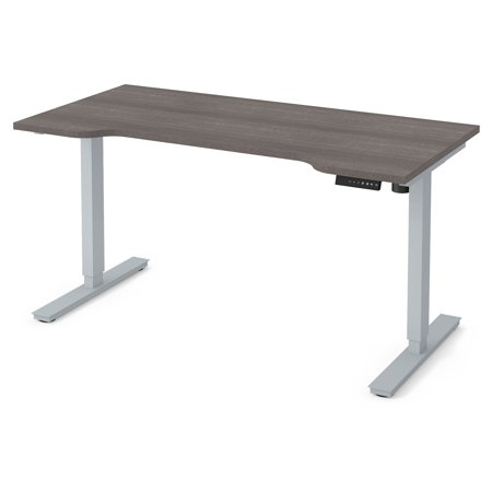 Bestar Curved Electric Height Adjustable Desk