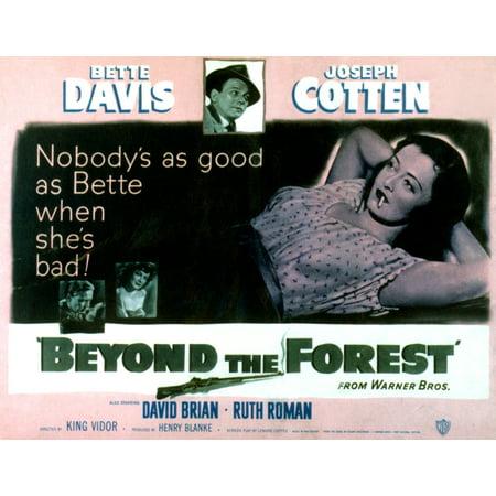 Davis Movie Poster - Beyond The Forest Joseph Cotten Bette Davis 1949 Movie Poster Masterprint