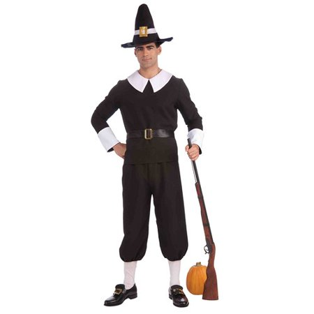 Pilgrim Man Adult Halloween Costume (Pilgrim Costume Adult)