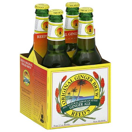 Reeds All Natural Jamaican Style Ginger Ale  48 Fl Oz   Pack Of 6