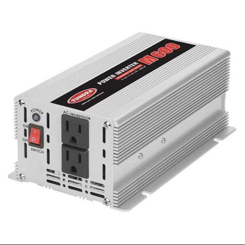 TUNDRA M600 Inverter,120VAC,12VDC,600W, 2 Outlets G1856620