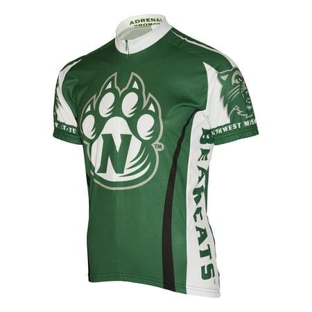 Adrenaline Promotions - Adrenaline Promotions NW Missouri State Bearcat Cycling  Jersey - Walmart.com 487466a82