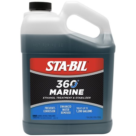 STA-BIL (22250) 360 Marine Ethanol Treatment, Fuel Stabilizer, 1
