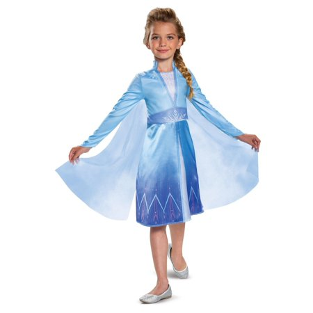 Disney's Girl's Frozen 2: Elsa Classic Toddler Costume