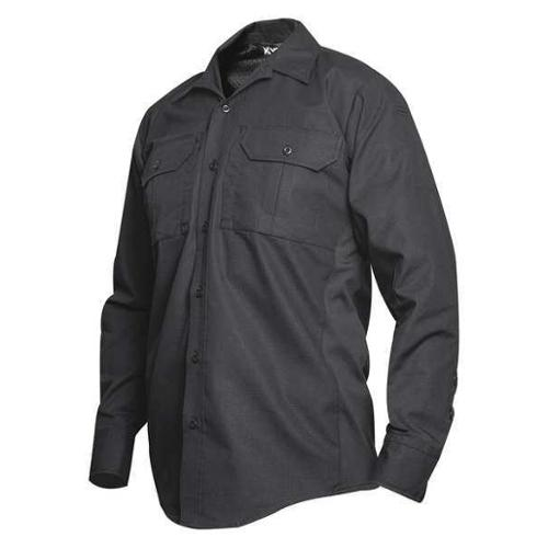 Vertx Vtx8120bk Tactical Shirt Ls,36 In. L,Black,4Xl G1637791