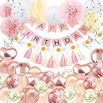 "Rose Gold Glitz 21st Birthday 18/"" Foil Balloon"