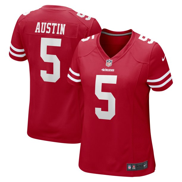 Tavon Austin San Francisco 49ers Nike Women's Team Game Jersey - Scarlet