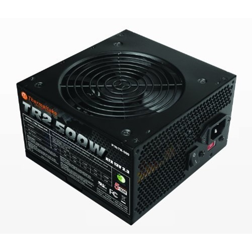 Thermaltake TR2 500W 12V ATX Computer Desktop PC Power Supply - TR-500CUS