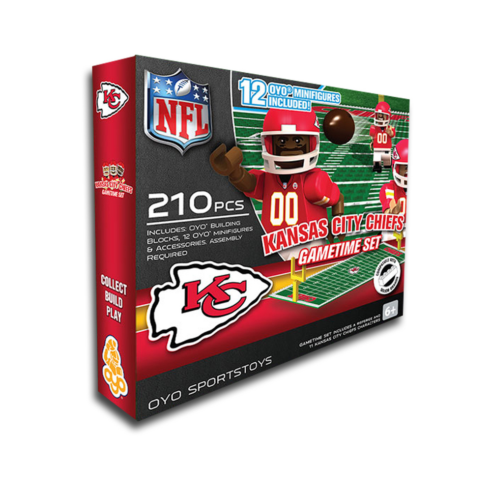 Kansas City Chiefs Official NFL 12 inch  x 8 inch  Oyo Products by Oyo