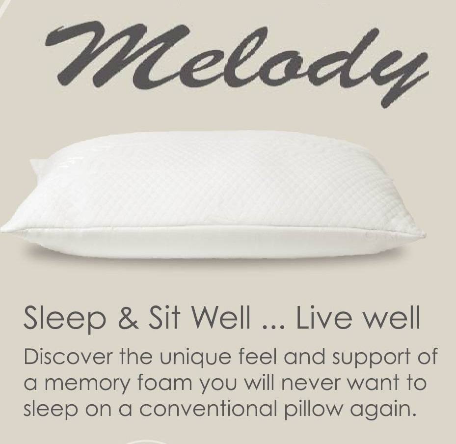Melody Memory Foam Pillow Special Luxury Edition (each)