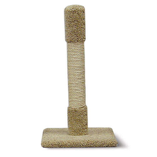 "30"" Multi-Material Cat Scratching Post (Colors May Vary)"