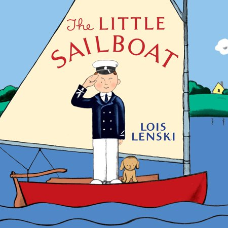 Little Sailboat (Board Book) - Little Man In The Boat