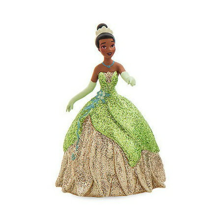 Disney Princess Princess & The Frog Tiana in Carnivale Gown PVC Figure [Glitter] [No Packaging] - Tiana Princess And The Frog