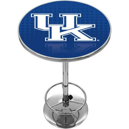 University of Kentucky Chrome Pub Table, -
