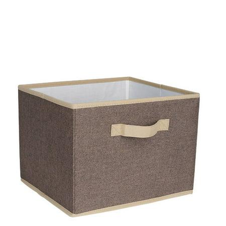 Household Essentials Open Storage Bin with Cloth Handles