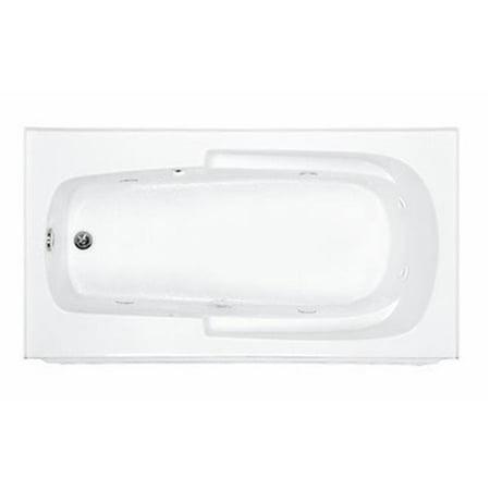 6032 Bathtub (Reliance Baths R6032ISW-W-RH Integral Skirted 60 x 32 in. Whirlpool Bathtub With End Drain, White Finish)