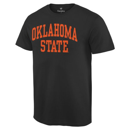 Oklahoma State Cowboys Basic Arch T-Shirt - Black