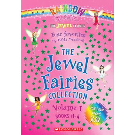 The Jewel Fairies Collection, Volume 1 (Books #1-4) : A Rainbow Magic Book