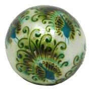 Dekorasyon Gifts & Decor Peacock Ball (Set of 2)