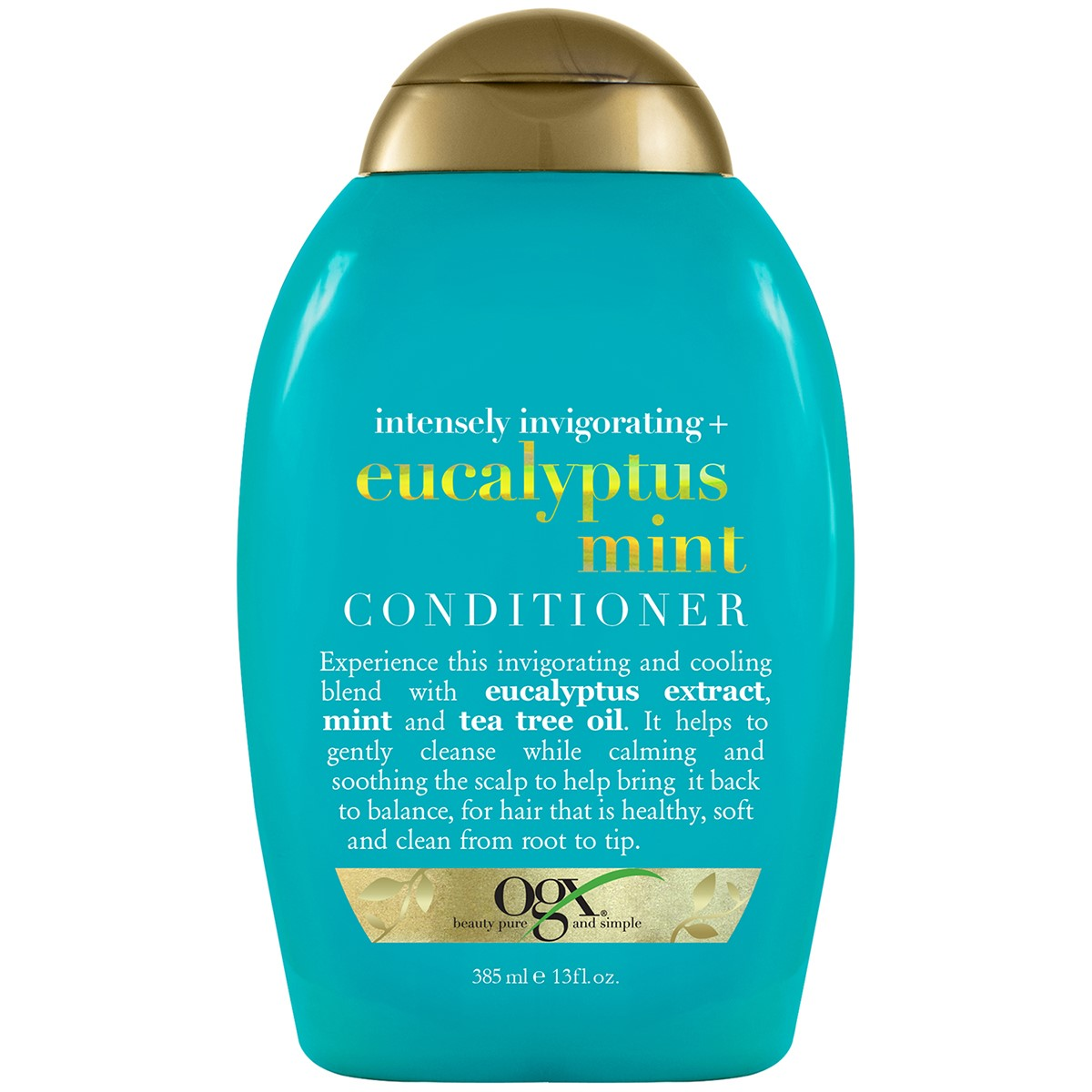 Organix Intensely Invigorating Plus Conditioner, Eucalyptus Mint, 13 Fluid Ounce