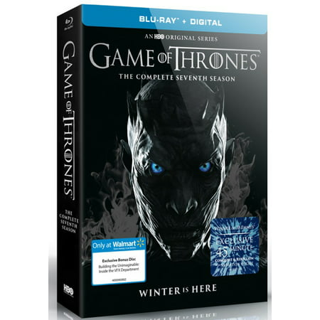 Game Of Thrones: Season 7 (Walmart Exclusive) (Blu-ray + Digital)
