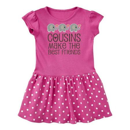 Cousins Make The Best Friends Infant Dress