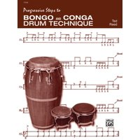 Progressive Steps to Bongo and Conga Drum Technique (Paperback)