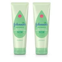 (2 Pack) Johnson's Creamy Oil Moisturizing Baby Body Lotion, 8 fl. oz