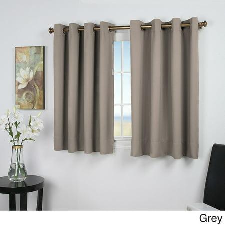 Ricardo Trading Ultimate Blackout 54 Inch Short Length Grommet Curtain Panel