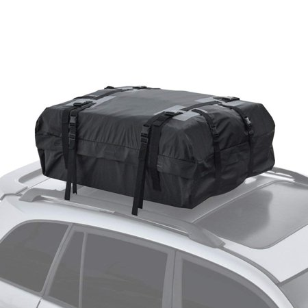 (Motor Trend RC-200 Haul Waterproof Roof Top Cargo Bag for Suv Van Car Auto (Soft Rooftop Carrier XL Supersonic Seals Heavy Duty Gear))