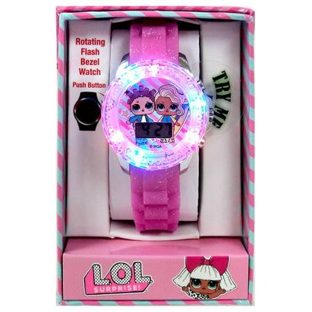 accutime watch corp lol surprise light up watch walmart com