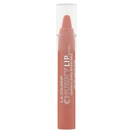 L A  Colors Chunky Lip Pencil  Creme Brulee  0 09 Oz