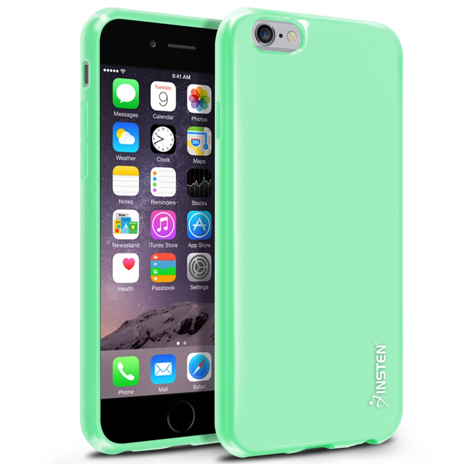 backup my iphone insten tpu ultra slim skin gel rubber cover for 4286