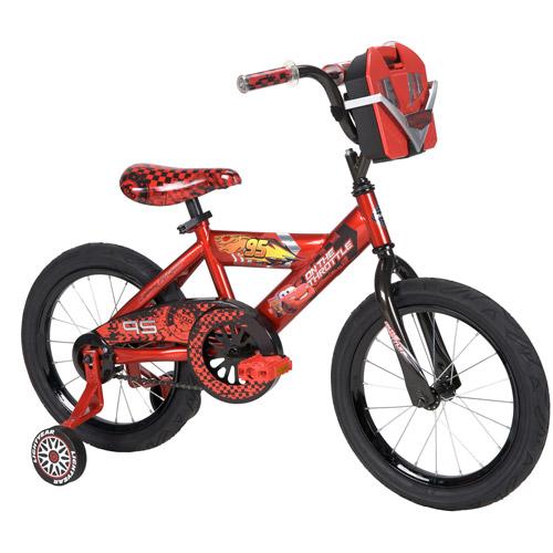 "16"" Huffy Disney Cars Boys' Bike with Tool Kit"