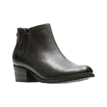 cac9f108888d4d Clarks - Women s Maypearl Ramie Ankle Bootie - Walmart.com