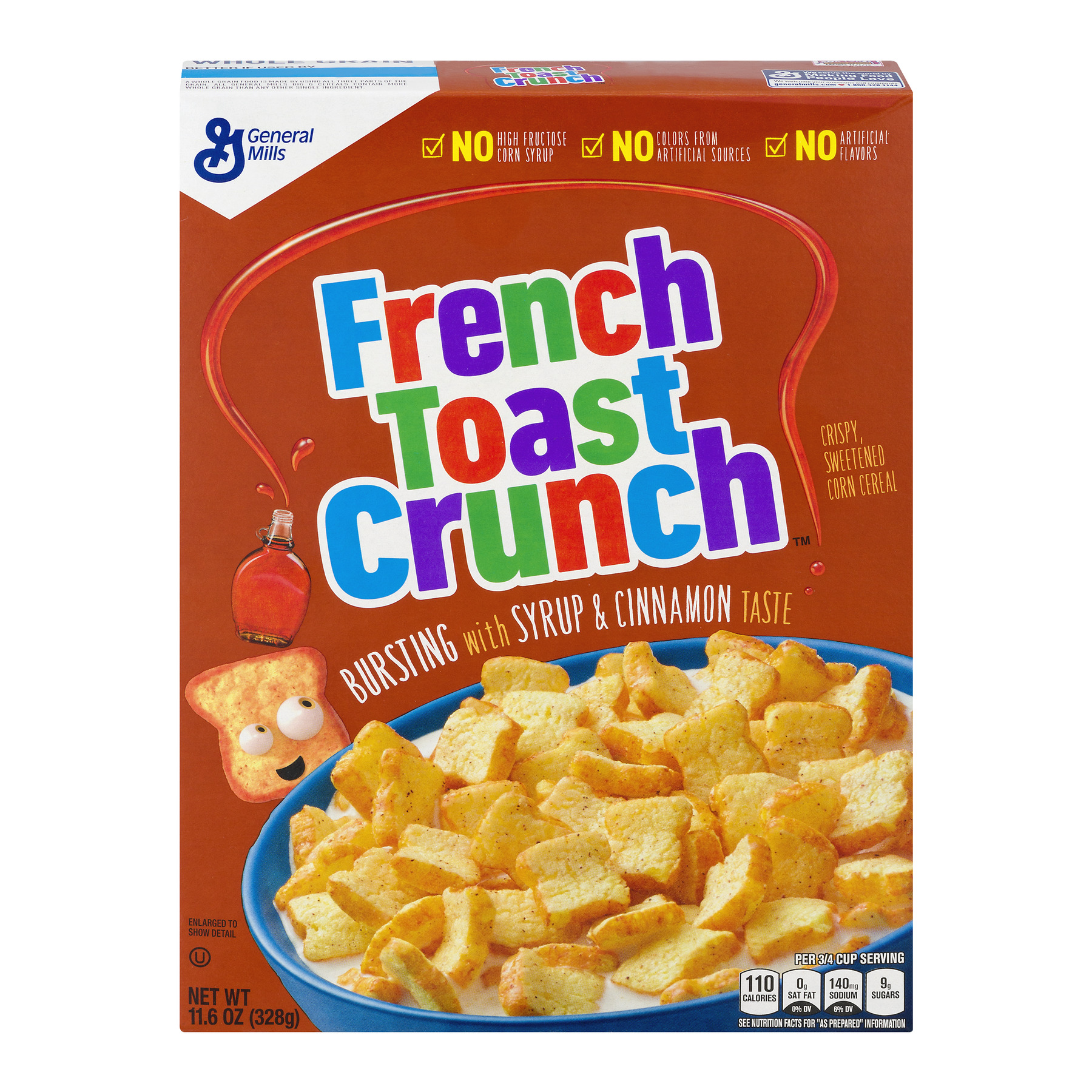 French Toast Crunch Cereal 11.6 oz Box