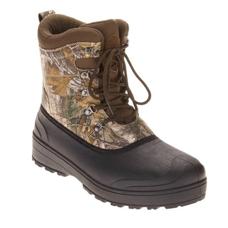 Ozark Trail Mens Camouflage Winter Pac Boots