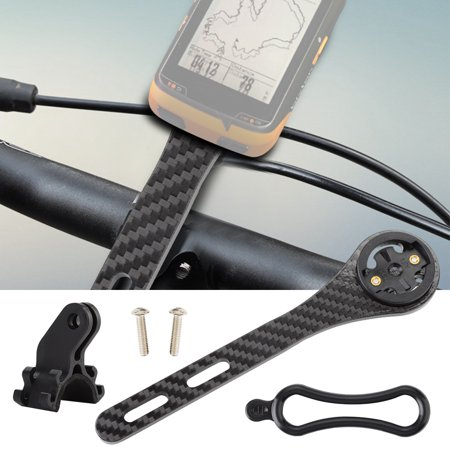 Integrated Stem (HERCHR Road Bike Cycling Computer Holder Integrated Handlebar Stem for Garmin for Bryton Series, Bicycle Handlebar Stem, Bike Computer)