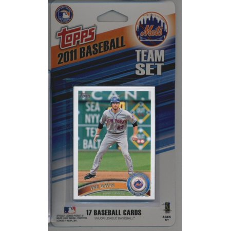 2011 Topps Limited Edition New York Mets Baseball Card Team Set (17 Cards) - Not Available In Packs!!