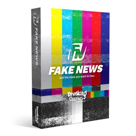 Fake News Card Game, Party Game - Halloween Party Escape Game