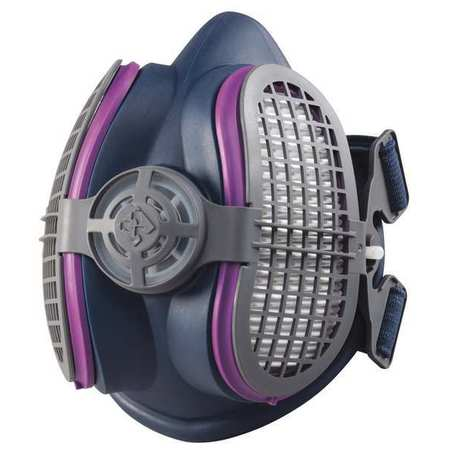 MILLER ELECTRIC Half Mask Respirator,Push-Connect ,S/M ML00894