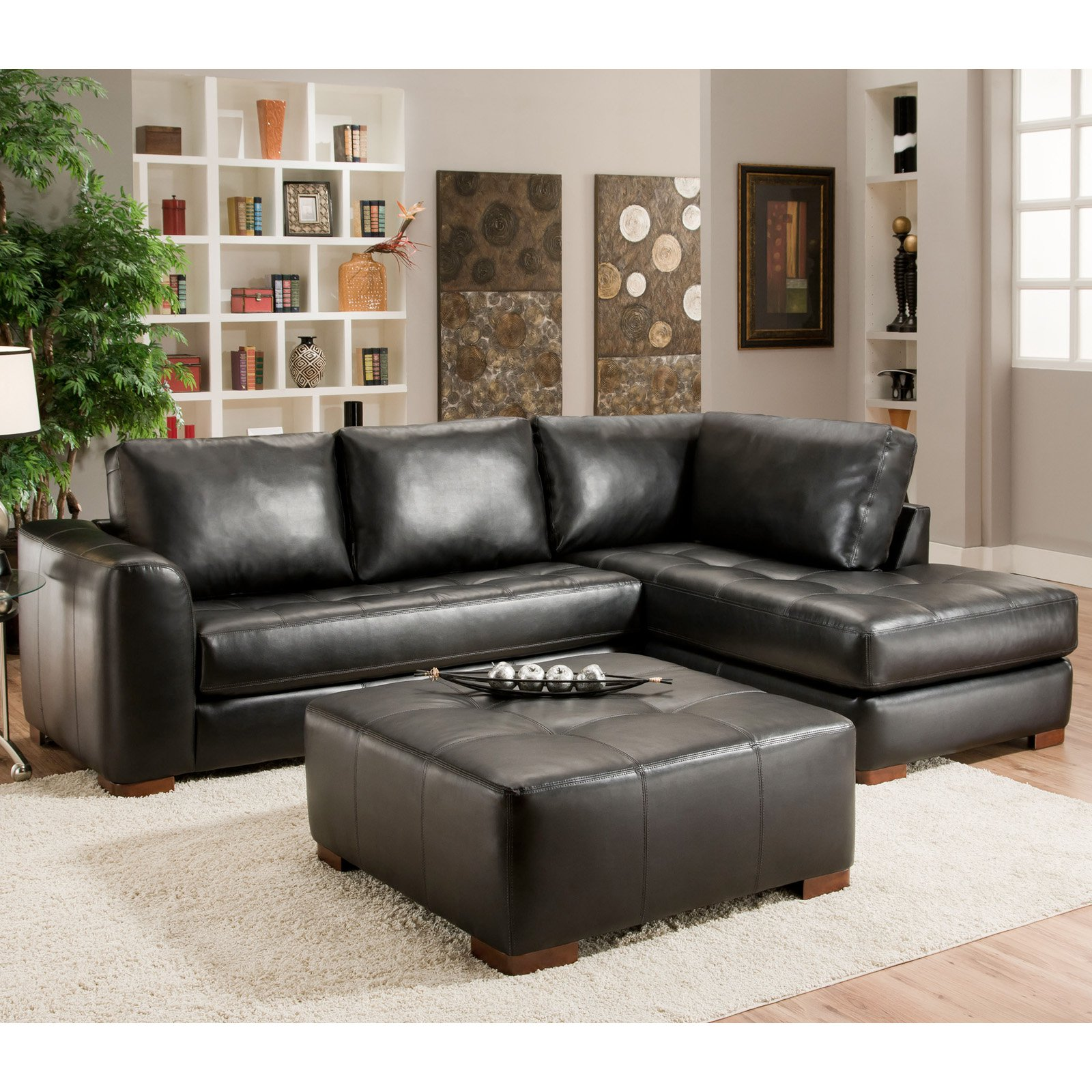 Chelsea Home Madison 2 Piece Sectional Sofa Walmart
