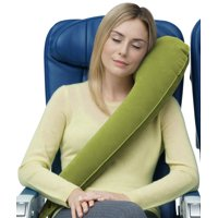 <b>Travelrest - Ultimate Travel Pillow / Neck Pillow - Ergonomic, Patented & Adjustable for Airplanes, Cars, Buses, Trains, Office Napping, Camping, Wheelchairs (Rolls Up Small)</b>