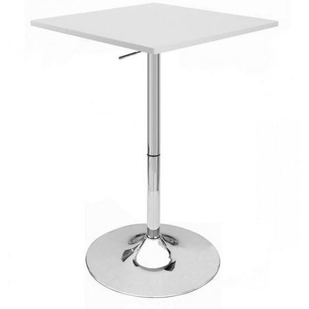 Vandue Corporation Zeta Adjustable Height Pub Table Set Of 4
