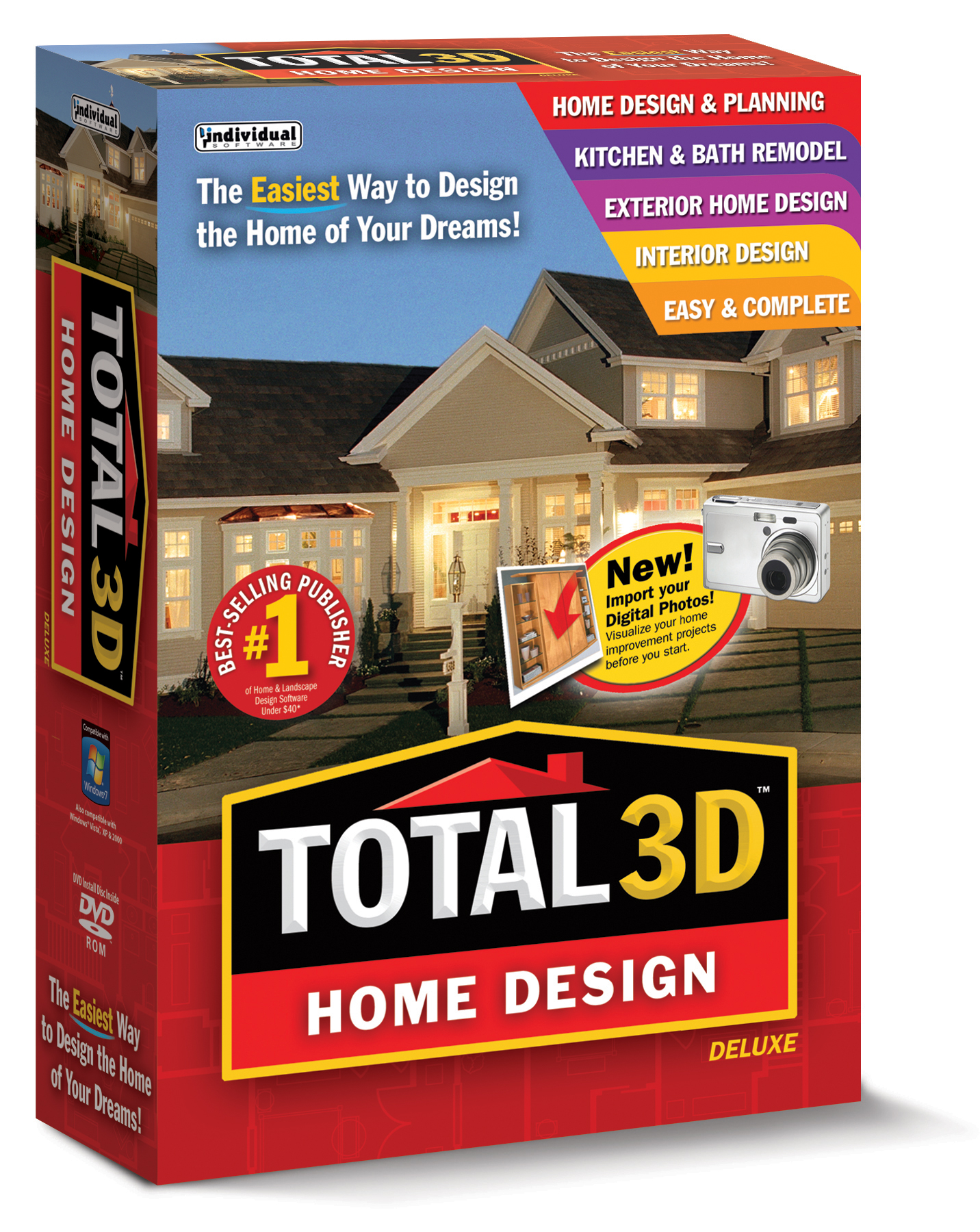 Individual Software Total 3D™ Home Design Deluxe