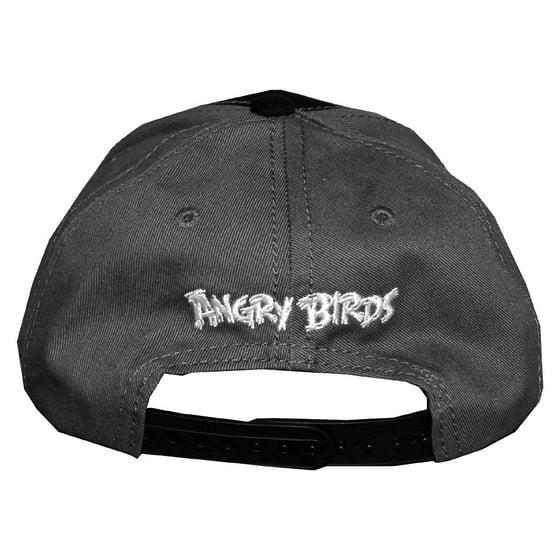 4cc206c7235 Angry Birds Rovio Black Bird Face Video Game Adjustable Toddler Baseball  Cap Hat