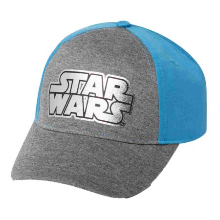 9e64dbda Star Wars - Boys Blue & Grey Snap Back Star Wars Baseball Cap Ball Hat -  Walmart.com