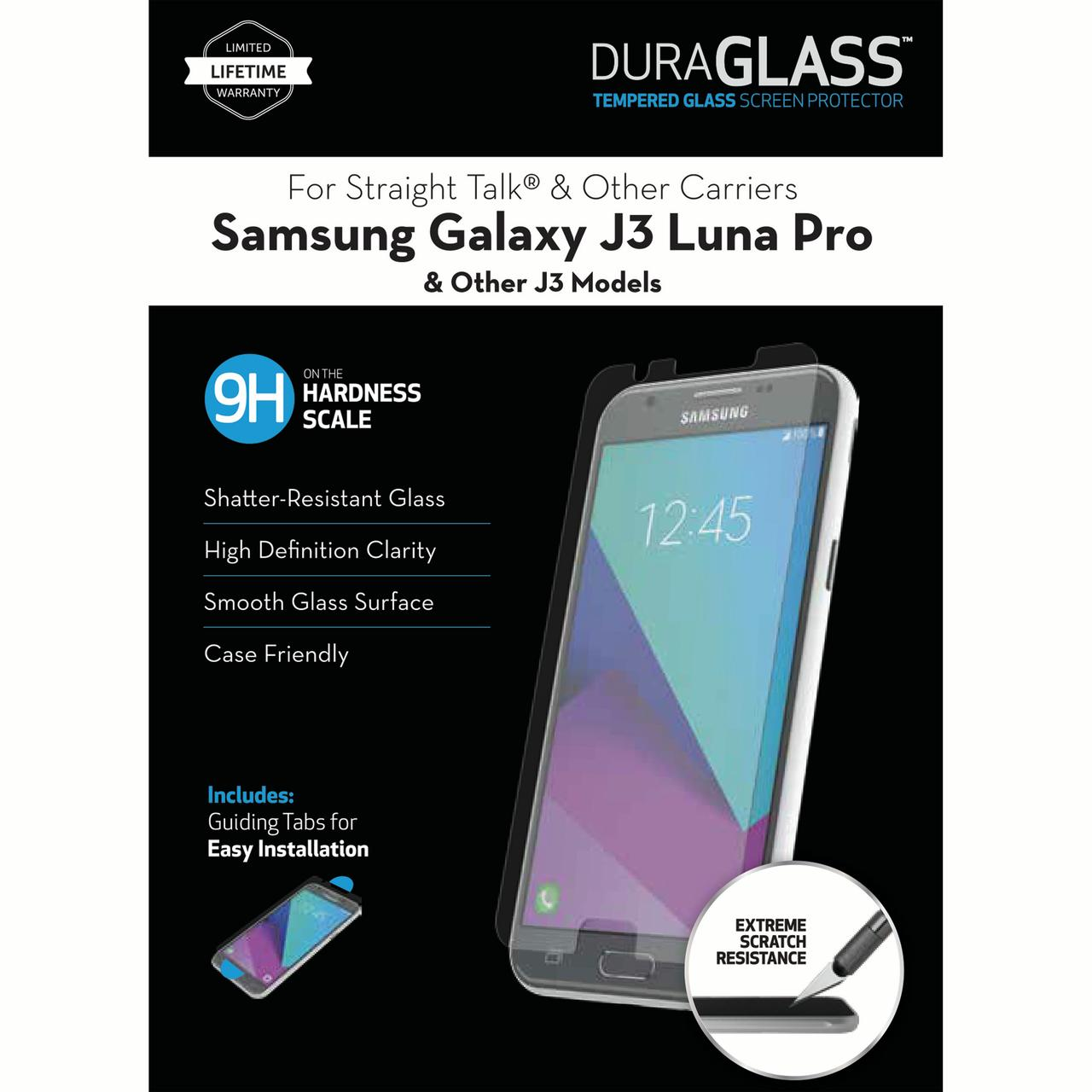 Writeright Duraglass Tempered Glass Screen Protector For Samsung