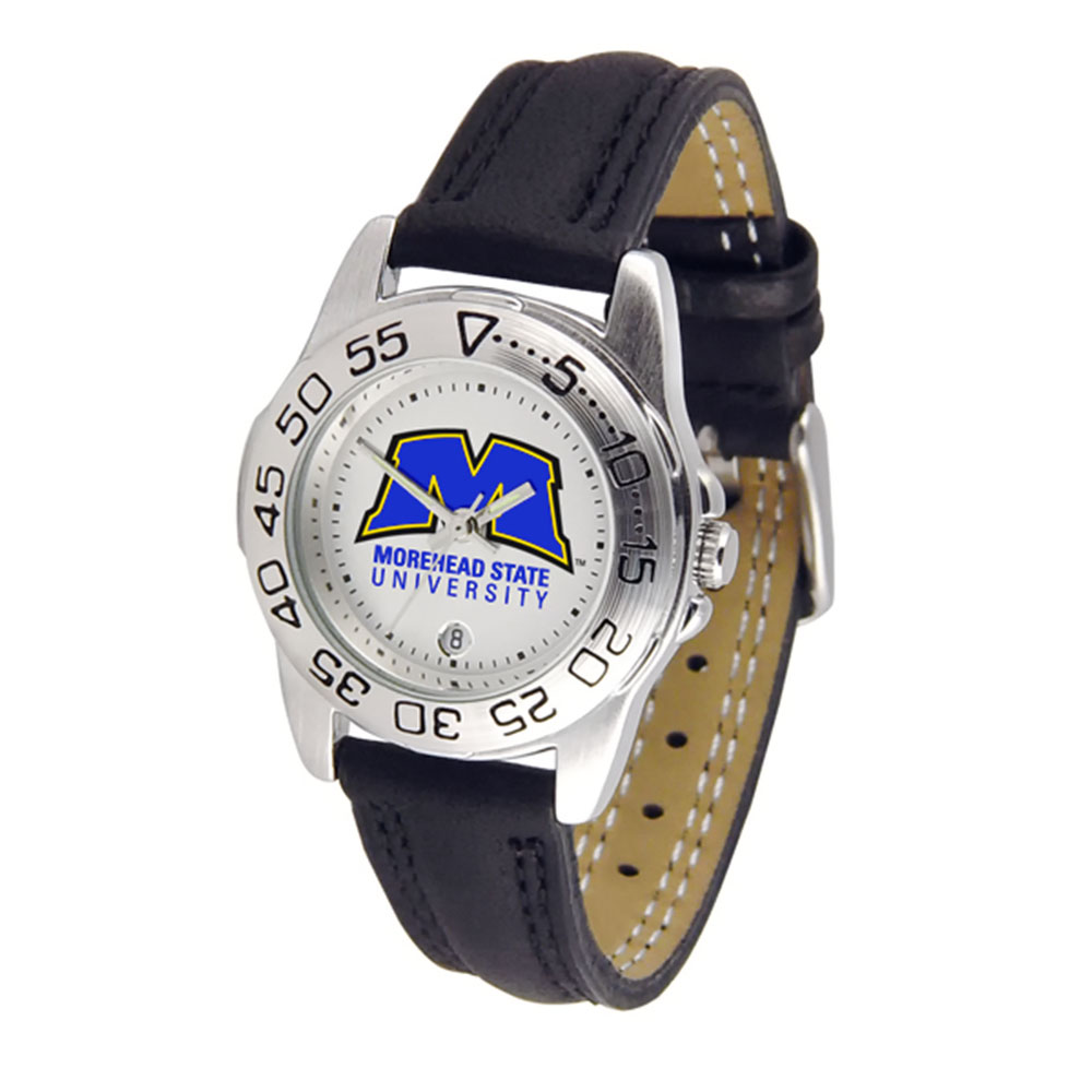 "Morehead State Eagles NCAA ""Sport"" Ladies Watch (Leather Band)"